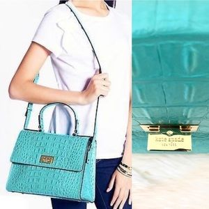kate spade Orchard Valley Doris Bag in Turquoise